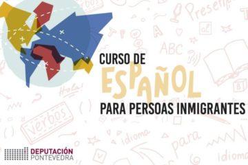 Deputación de Pontevedra pon en marcha a V edición dos cursos de español para inmigrantes