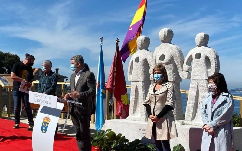 Redondela honra a memoria das persoas asasinadas por defender a República