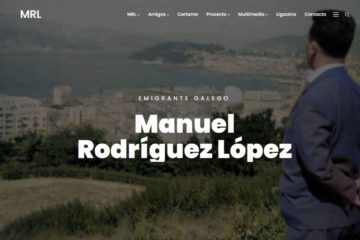 "Presentada a nova web do proxecto ""Manuel Rodríguez López"""
