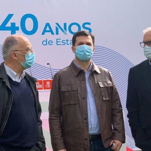 PSdG conmemora o 40º aniversario do Estatuto de Autonomía de Galicia