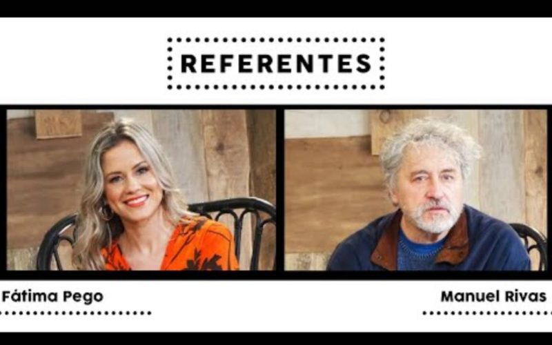 "Manuel Rivas e Fátima Pego falan sobre a música, a memoria e a retranca no marco do proxecto audiovisual ""Referentes"""