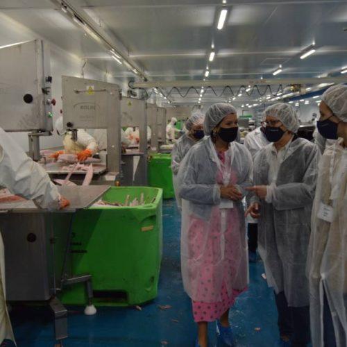 Xunta de Galicia pon en valor a planta de ultraconxelados en Mos