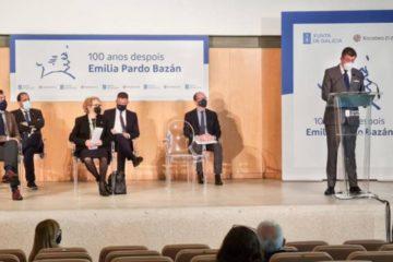 """Concello da Coruña presenta a programación de """"100 anos despois. Emilia Pardo Bazán"""""""