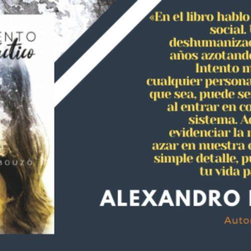 """Alexandro Bouzó presenta """"Pensamiento contrafáctico"""" para clausurar o Abril, mes dos libros en Ponteareas"""