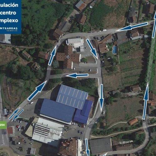 Nova ordenación de mobilidade e tráfico no centro de saúde e complexo deportivo de Ponteareas