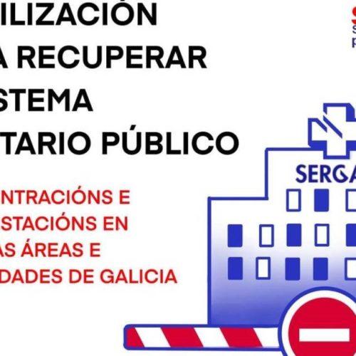 Razóns para mobilizarnos o día 21 de abril de 2021 en defensa da sanidade pública galega