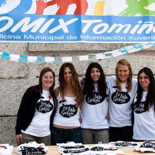 A OMIX de Tomiño convoca un novo concurso de deseño de camisetas para celebrar o 17 de maio