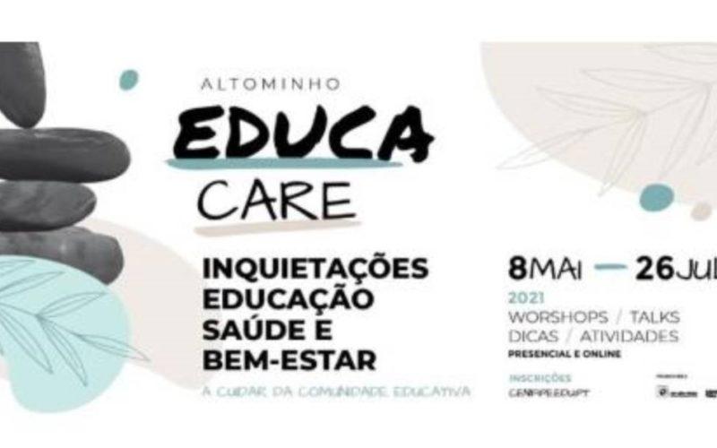 CIM Alto Minho impulsa o projeto Educa Care sobre educação, saúde e bem-estar