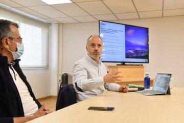 """David Regades: """"Zona Franca, Concello e goberno de España planifican o Vigo de 2050"""""""