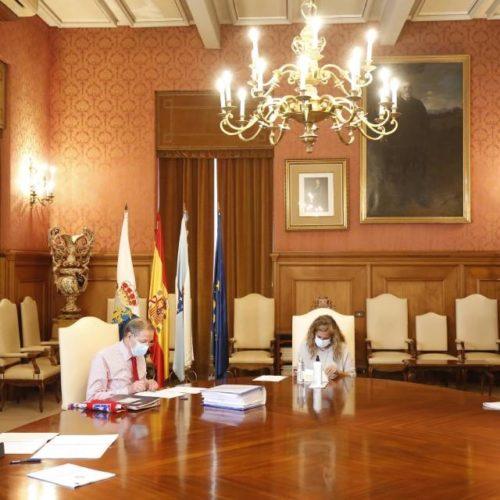 Deputación de Pontevedra impulsa proxecto de mobilidade peonil en Arbo