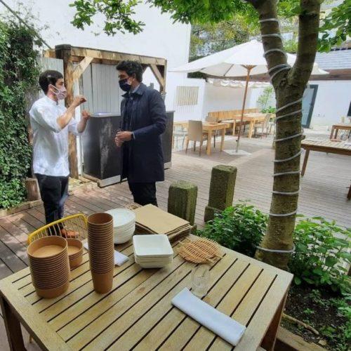 Hostaleiros de Lugo obteñen axudas para terrazas e venda a domicilio