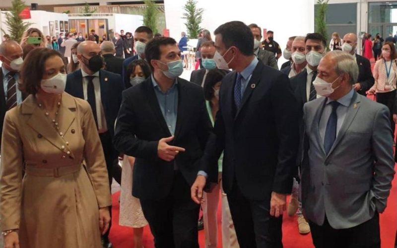 Pedro Sánchez apoia a candidatura da Ribeira Sacra como Patrimonio Mundial
