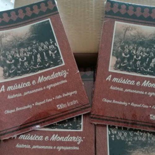 """""""A música e Mondariz"""", un libro que valoriza a tradición musical da vila"""