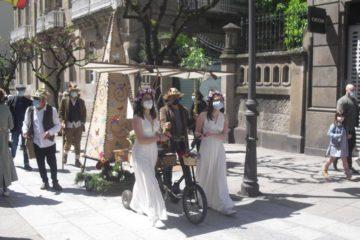 Ourense celebrou a festa dos maios
