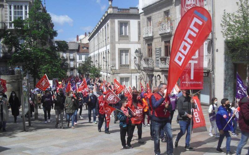 Manifestación do Primeiro de Maio en Ourense
