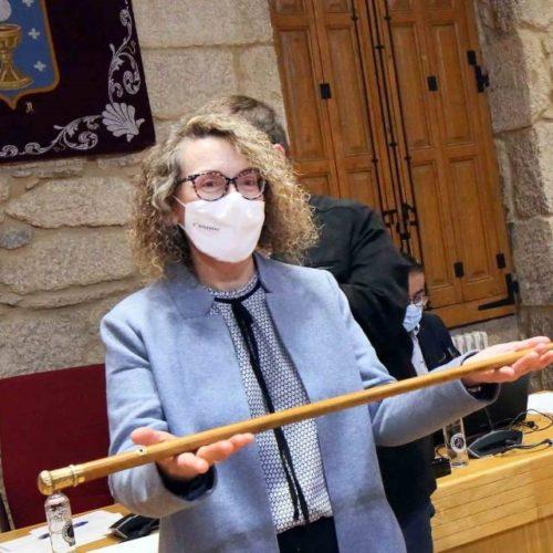 Cristina Fernández Davila, nova alcaldesa de Ponteareas