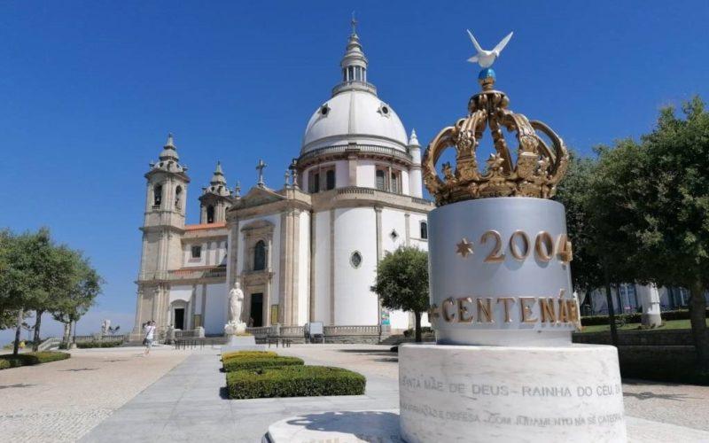 O Santuario da Nossa Senhora do Sameiro en Braga