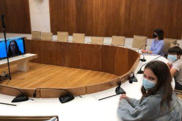A mocidade tomiñesa traslada ás súas propostas á Xunta