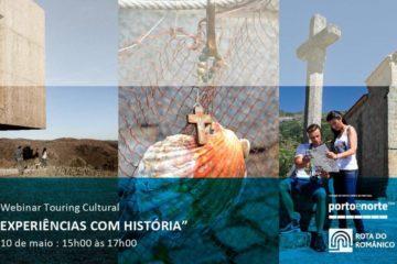 """Webinar """"Touring Cultural: Experiências com História"""""""