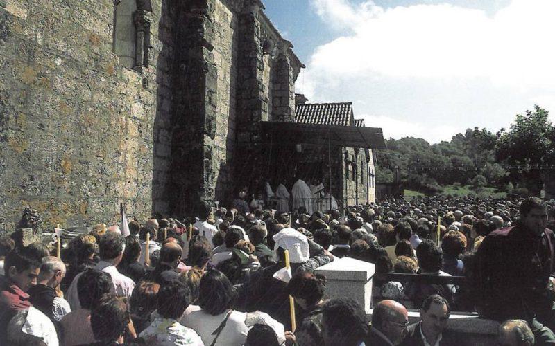 O Santuario da Nosa Señora da Franqueira, punto estratéxico de peregrinación da Vía Mariana