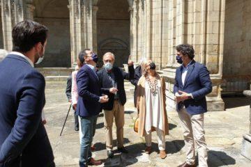 A Xunta licita as obras de restauración do claustro da Catedral de Lugo