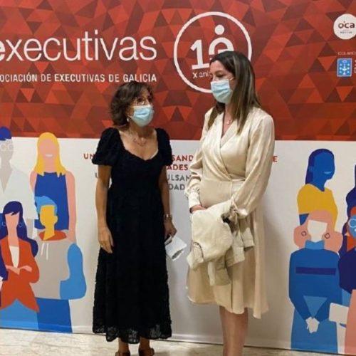 Empresarias lucenses no X aniversario de Executivas de Galicia