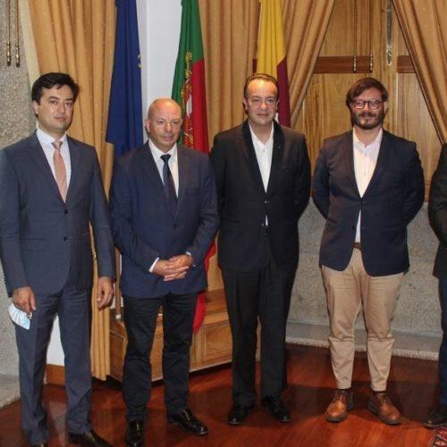 Embaixador da República do Uzbequistão visitou Ponte de Lima