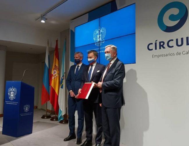 Rusia inaugura o seu primeiro Consulado Honorario en Galicia