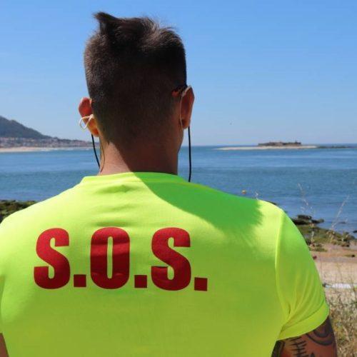 Concello da Guarda renunciou á Bandeira Azul na praia de Area Grande