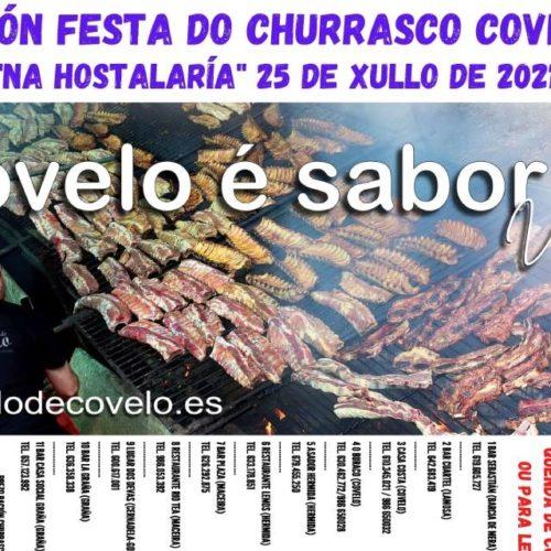 Covelo celebrará cun novo formato a XL edición da Festa do Churrasco