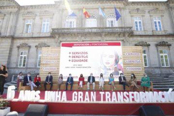 Carmela Silva fai balance de seis anos de xestión ao fronte da Deputación de Pontevedra