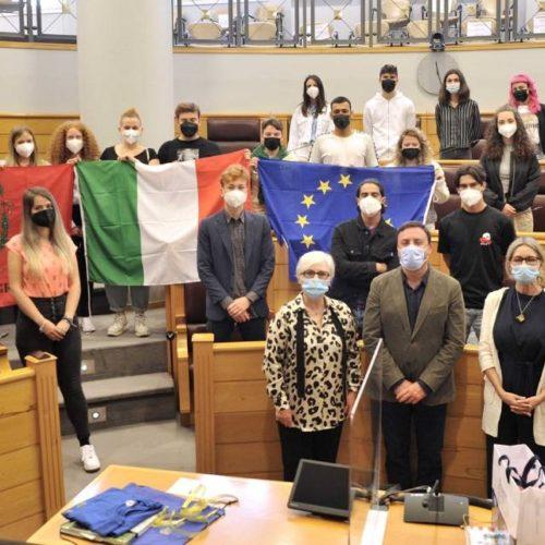 Deputación da Coruña recibiu estudantes Erasmus + da provincia italiana de Grosseto