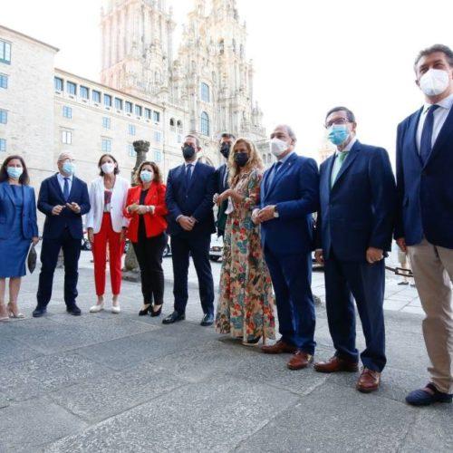 Deputación de Pontevedra participou en Santiago no Plan Nacional Xacobeo