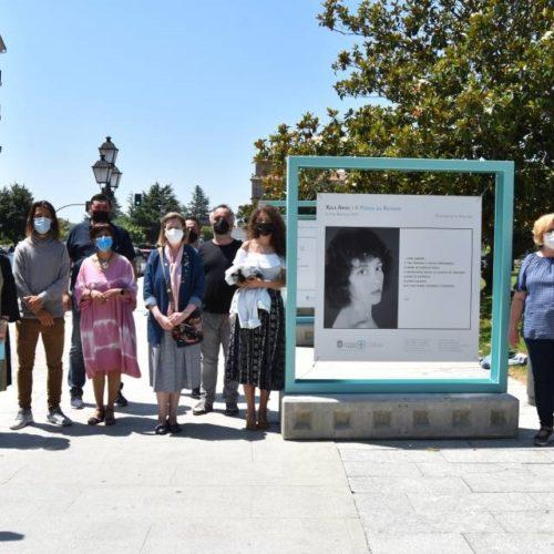 Os versos e retratos de Xela Arias chegan a Monforte nunha exposición