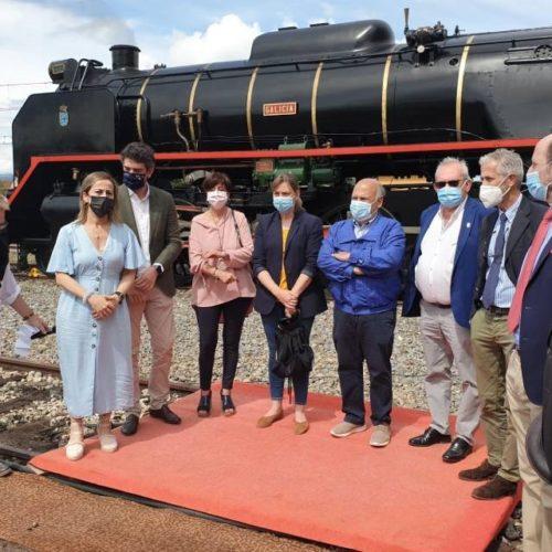 Reabriuse ao público o Museo do Ferrocarril de Galicia en Monforte