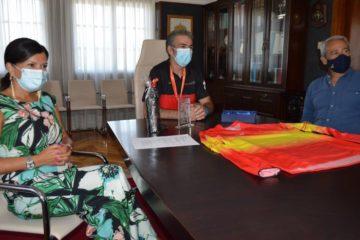 Mos recibe a Carlos Táboas, o seu Campión de España de + Enduro Master 50