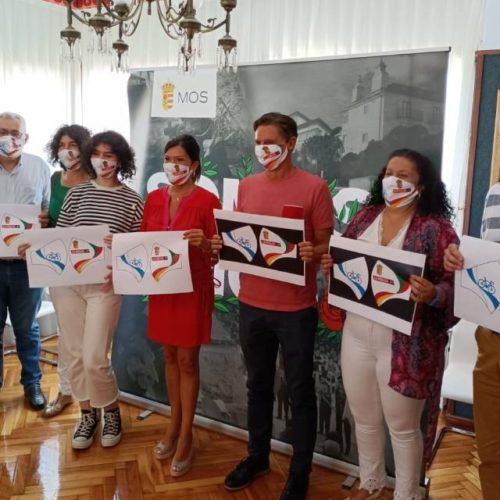Elisa Posada, gañadora do concurso da mascarilla oficial La Vuelta 21 de Mos
