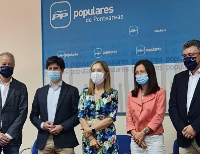 PP Ponteareas recibiu visita de apoio por parte de deputados estatais