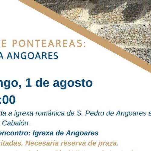 'Coñece Ponteareas' arranca de novo este agosto cunha visita a Angoares