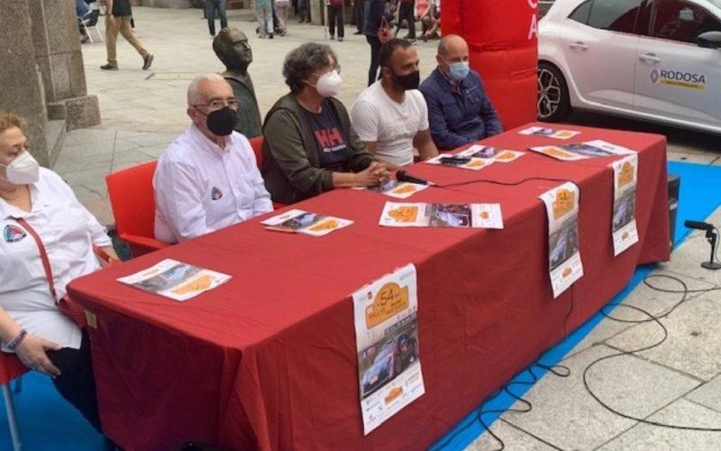 """O Porriño renova o seu compromiso co """"Rallye Recalvi Rías Baixas"""""""