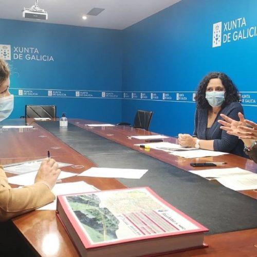 Salvaterra e a Xunta perfilan proxectos estratéxicos