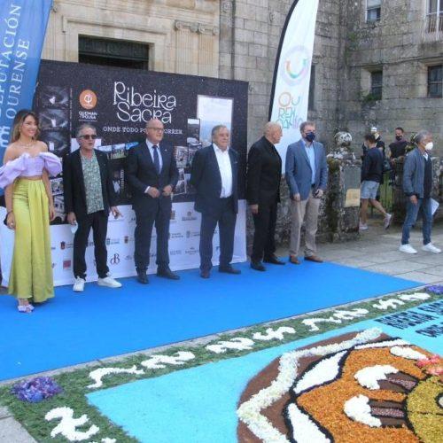 """O audiovisual """"Ribeira Sacra, onde todo pode ocorrer"""" foi presentado en Montederramo (Ourense)"""
