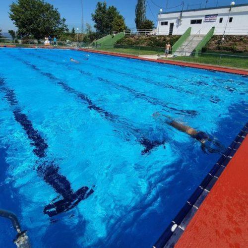 O tudense Clube de Natación Baixo Miño estrea a piscina pre-olímpica das Neves