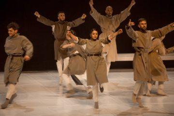 Danza contemporánea no Camiño de Santiago ao seu paso por Mos