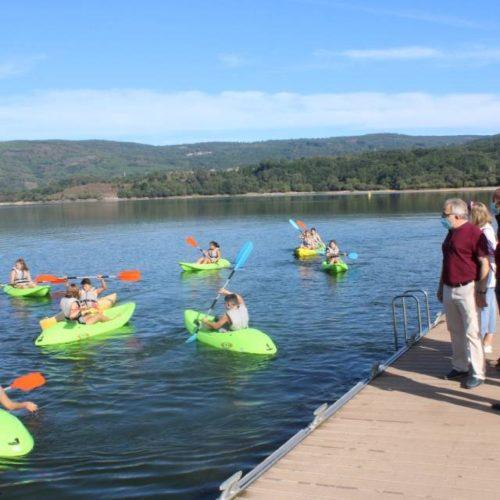 Campamento de verán 'Vén explorar con nós' en Corgo de Muíños (Ourense)