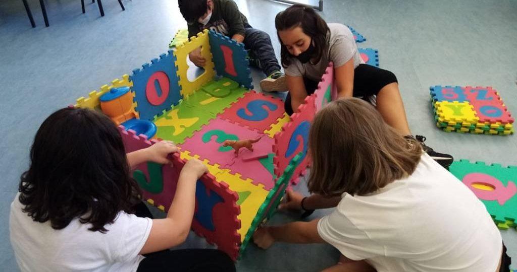 Éxito total no campus de verán de Ponteareas