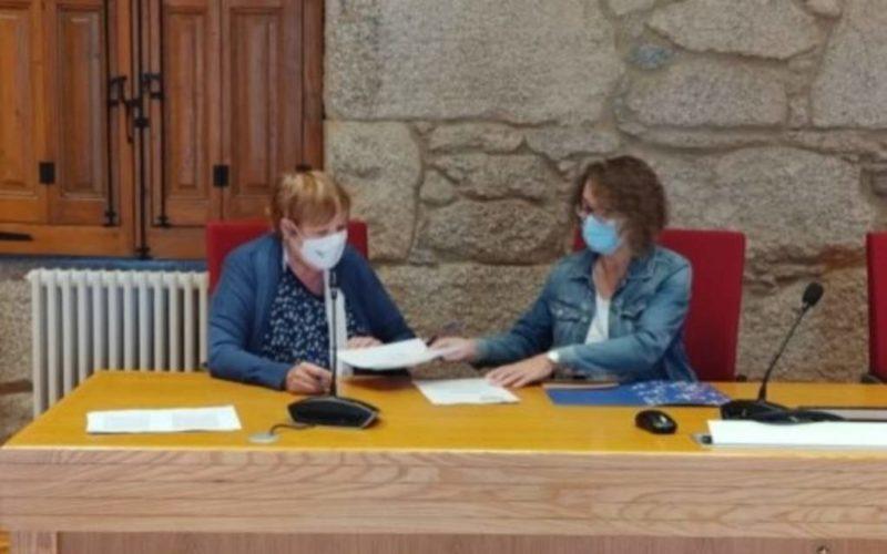 Ponteareas asinou convenio coa Asociación Solidariedade Galega co Pobo Saharauí