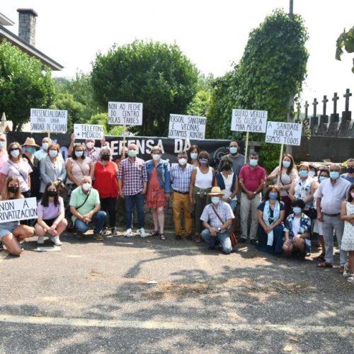 Plataforma pola Sanidade Pública de Tomiño denunciou deterioro na Atención Primaria