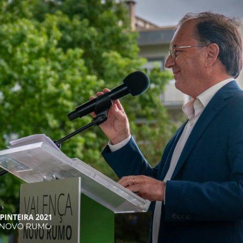 José Carpinteira apresenta a sua candidatura à Câmara Municipal de Valença