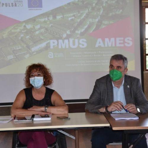 Ames presentou o seu Plan de Mobilidade Urbana Sostible (PMUS)
